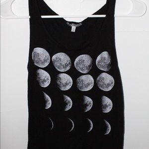 Charlotte Russe Moon 🌙 Phases Tank Top